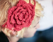 pomegranate blooming headband