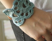 hand dyed shell cuff