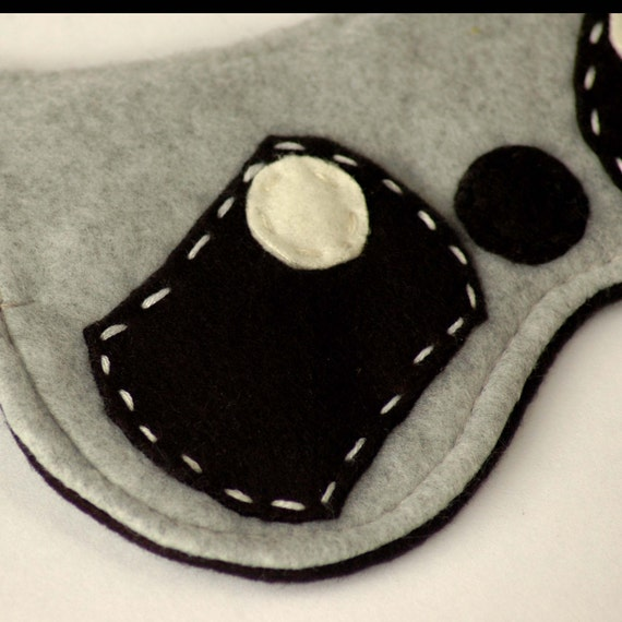 Soft Plushy And Cute Raccoon Sleep Mask / Eye Mask Raccoon Eye Mask