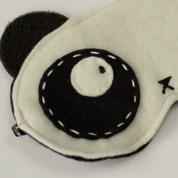 Panda Eyes Sleep Mask. Softy and adorable Gift Idea for Dads -n- Grads
