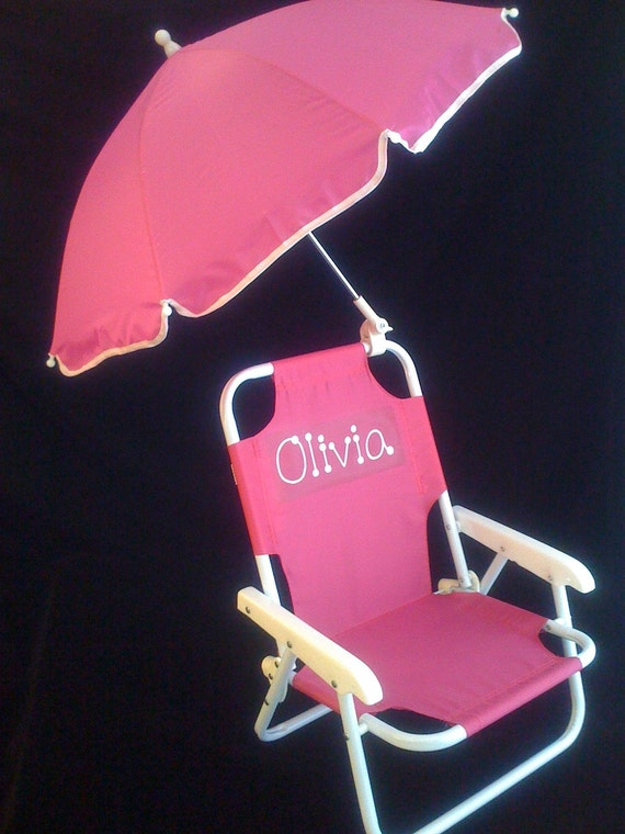 Personalized Children 39 S Beach Chair