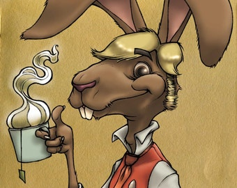 Portrait of the March Hare