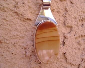Bruneau Jasper Pendant set in Sterling Silver