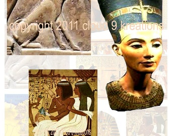 Ancient Egypt Digital Collage Sheet 1