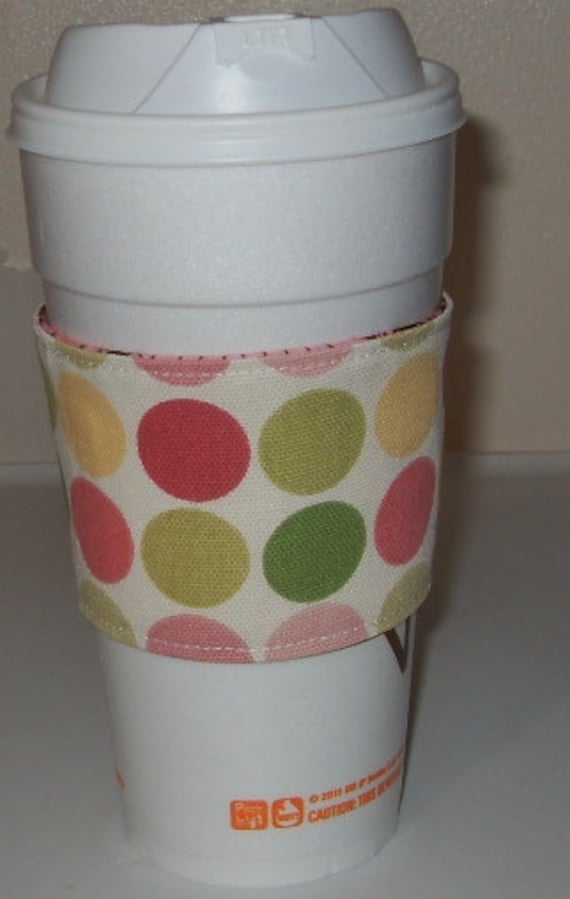 Free shipping reversible coffee cozy