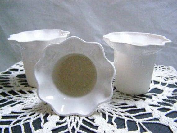 African Violet Teacup/Mug Insert - Set of Three