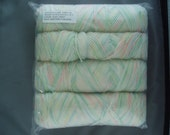 Super Saver Yarn BABY PRINT 1 Pound 4 Ply Mill Grade 250 Coats and Clark