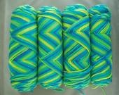 Super Saver Yarn BANANA BERRY1 Pound 4 Ply Mill Grade 250 Coats and Clark