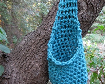 Crochet Cocoon Hanging Cocoon Baby Cacoon Baby Boy Cocoon Newborn Cocoon Stork Pouch Infant Cocoon Baby Pouch Baby Pod Photo Prop Blue