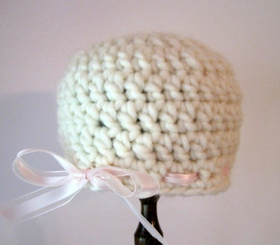 Crochet Baby Hat, Baby Girl Hat, Crochet Girl Hat, Coming Home Hat, Newborn Girl Hat, Infant Girl Hat, Baby Hat with Bow, Baby Hospital Hat
