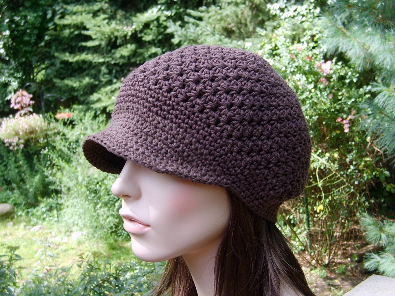 Free Crochet Pattern Newsboy Style Cap : Womens Newsboy Hat, Teens, Newsboy Hat Women, Womens ...