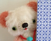 PATTERN Marshmallow Peanutte - Japanese Mohair Artist Teddy Bear ePattern Download DIY Plush Sewing