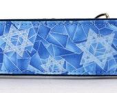 Ice Blue Hanukkah Martingale Collar