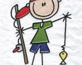 Kids Camping Machine Embroidery Designs