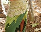 Long Pixie skirt - Spring Maid - Light green