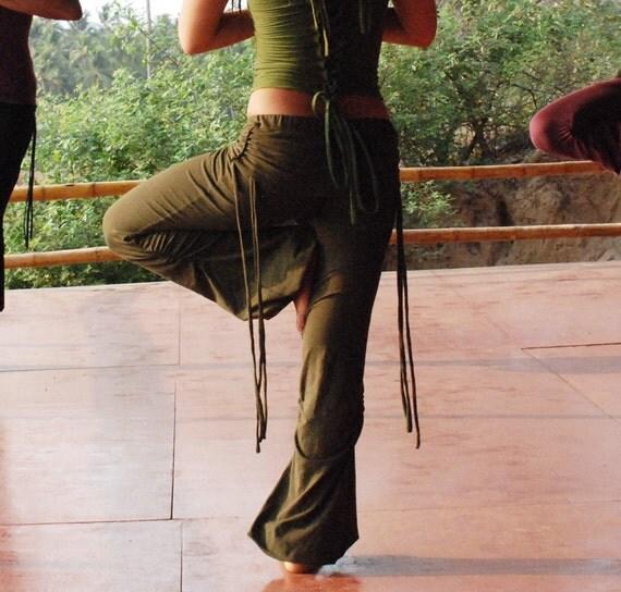 Items Similar To Green Organic Adinata Pants... All Sizes