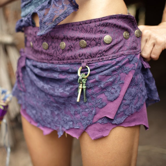 Short Pixie skirt - Purple