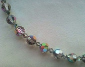 Crystal Beads bracelet made with Swarovski crystal and Sterling silver by The Little Shop of Sparkles