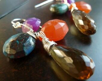 Tribal, Earth, Nature, Sedona Earrings by Anastassia Designs