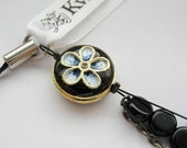 Kwan signature key chain or mobile cell phone charm - reserved for mairuru