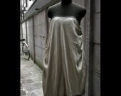 RESERVED - Silk strapless gown - size M\/L
