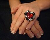 BIG COOL JEWEL adjustable ring