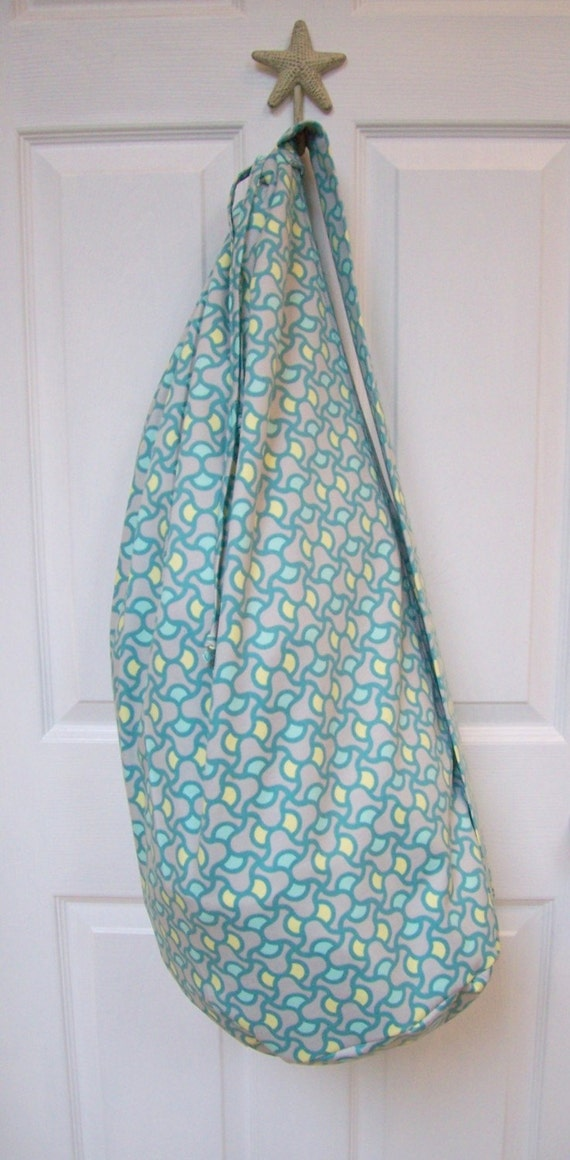 August Fields (Amy Butler) - Large Laundry Bag With Strap And Drawstring