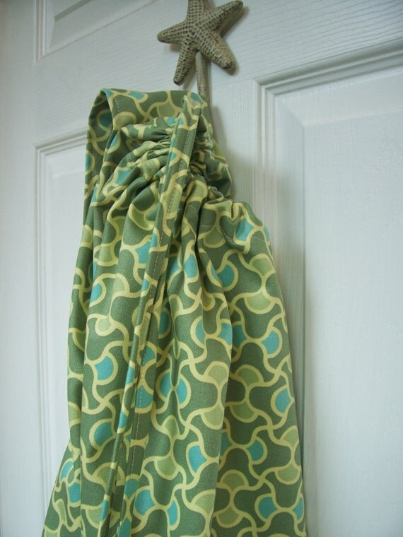 Garden Knot (Amy Butler) - Large Laundry Bag With Strap And Drawstring