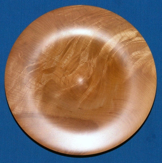 Knotty Curly Maple Turning   -Folds In Time-   Highly Figured Maple