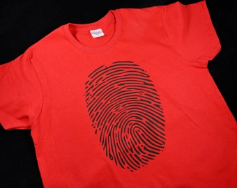Fingerprints Womens T Shirt