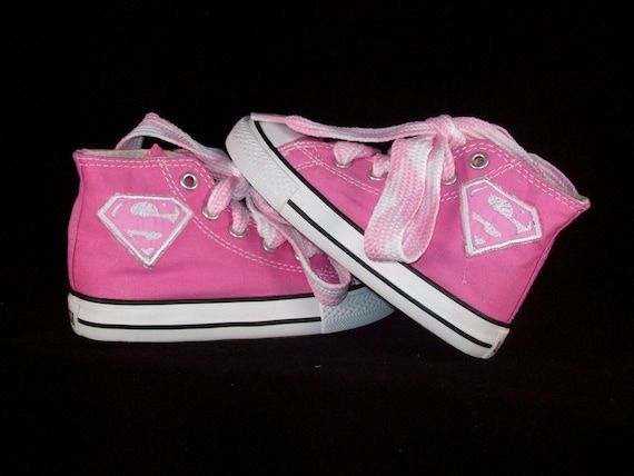 Supergirl Converse Shoes