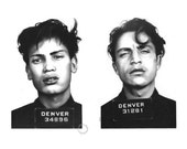 Denver Diptych - Pencil Drawing - Just a Number Series