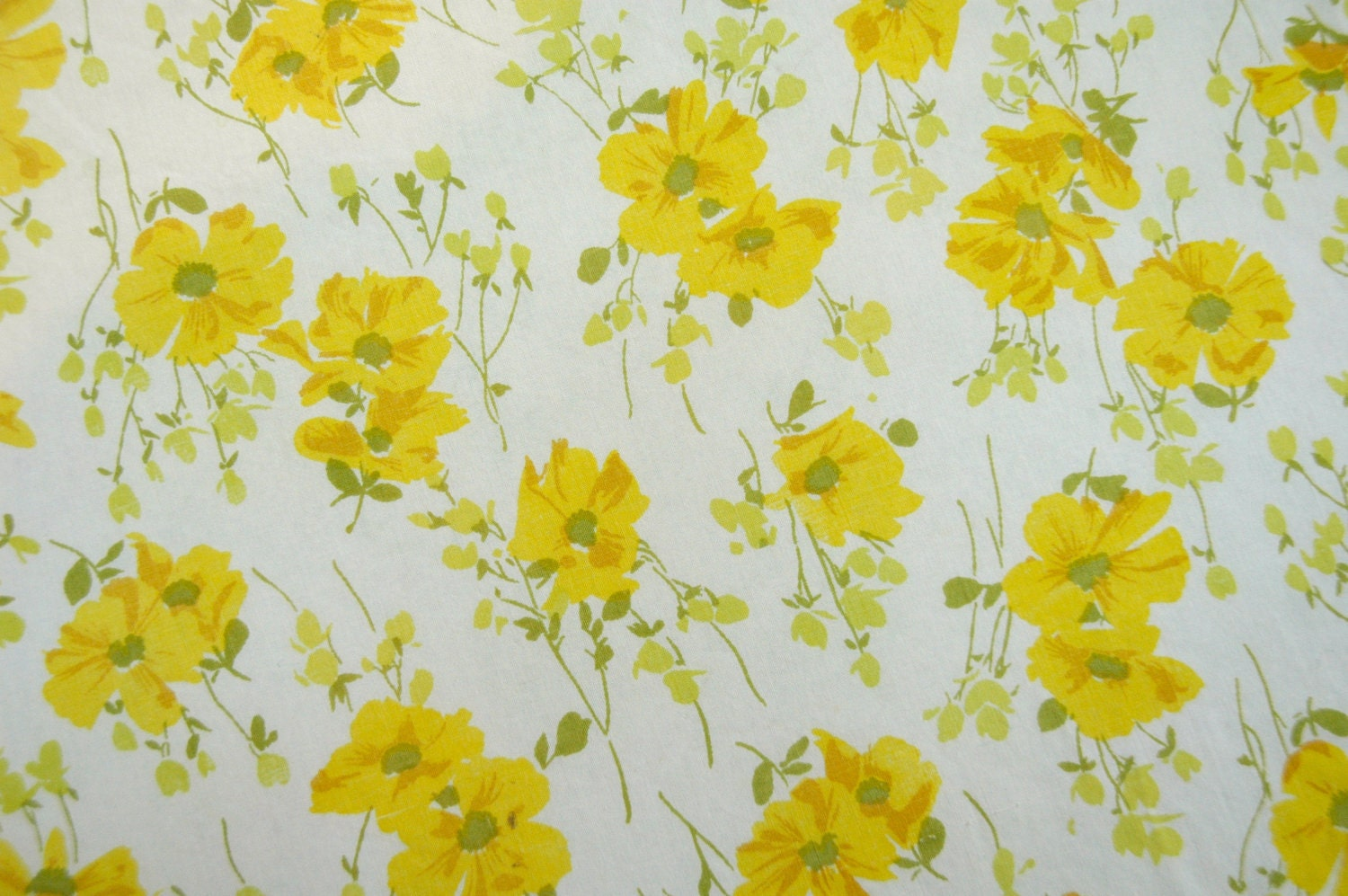 yellow floral pattern - photo #26