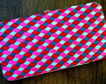 Analiese Opera Clutch,Wallet Handwoven 100 Percent Silk