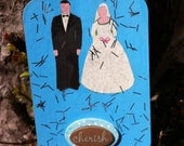 ACEO Wedded Bliss Artist Trading Card