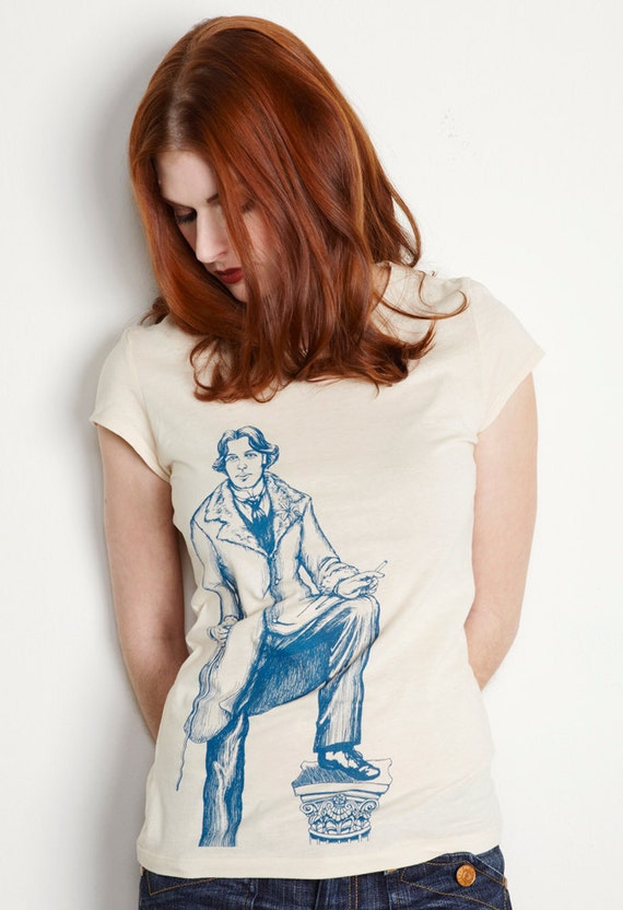 Women's Oscar Wilde TShirt Victorian Literary
