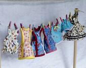 Pattern for Blythe Summer Set  Sunsuit, Sundress ,Tops and Shorts