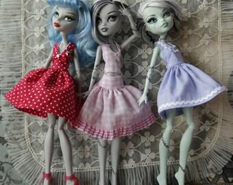 Dress Patterns for Slim fashion Dolls