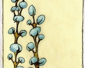 Blue Puffs - Signed Limited Edition Art Print