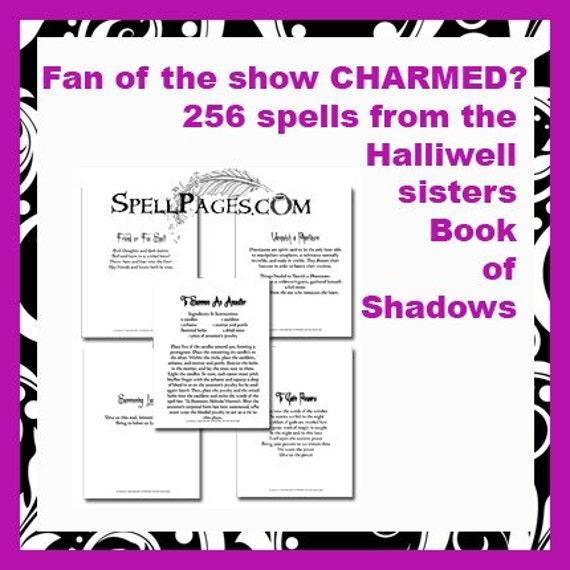 Charmed book of shadows spells download free
