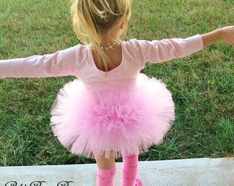 Pink Tutu, Girl's Tutu, SEWN Tutu, Toddler Tutu, Birthday Tutu, Princess Tutu, Made to Order 2T, 3T, or 4T, Wedding Dance Birthday Gift
