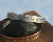 YOUR Mountain Sterling Silver Cuff