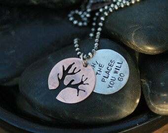 Oh, The Places You Will Go Necklace