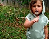 Sage Organic Cotton Tencel Seedpod Kids Hoodie 1-2 years