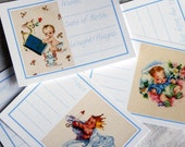 Baby Cakes Boy Journaling Cards
