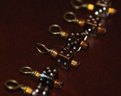 SALE Lady Luck: Chocolate Edition Set of 6 Stitch Markers