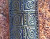 Small Ceramic Mezuzah Cover