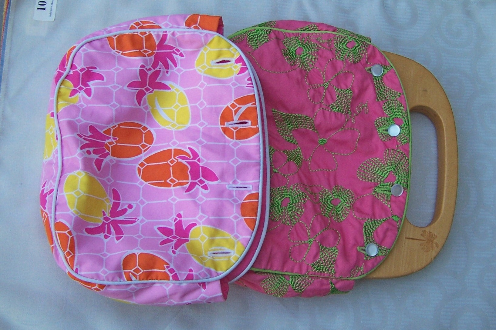 Vintage Retired Lilly Pulitzer Bermuda Bag With Two