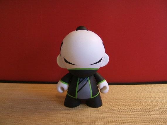 "Custom 4"" Munny Masked Samurai Ronin"