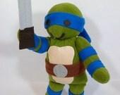 Teenage Mutant Ninja Turtle Plush Toy Leonardo
